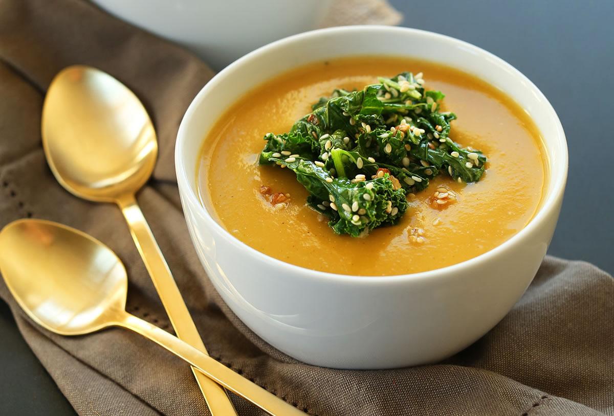Pumpkin Soup / Soupe à la citrouille
