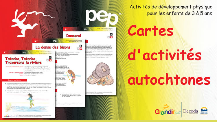 Cartes d'activités autochtones