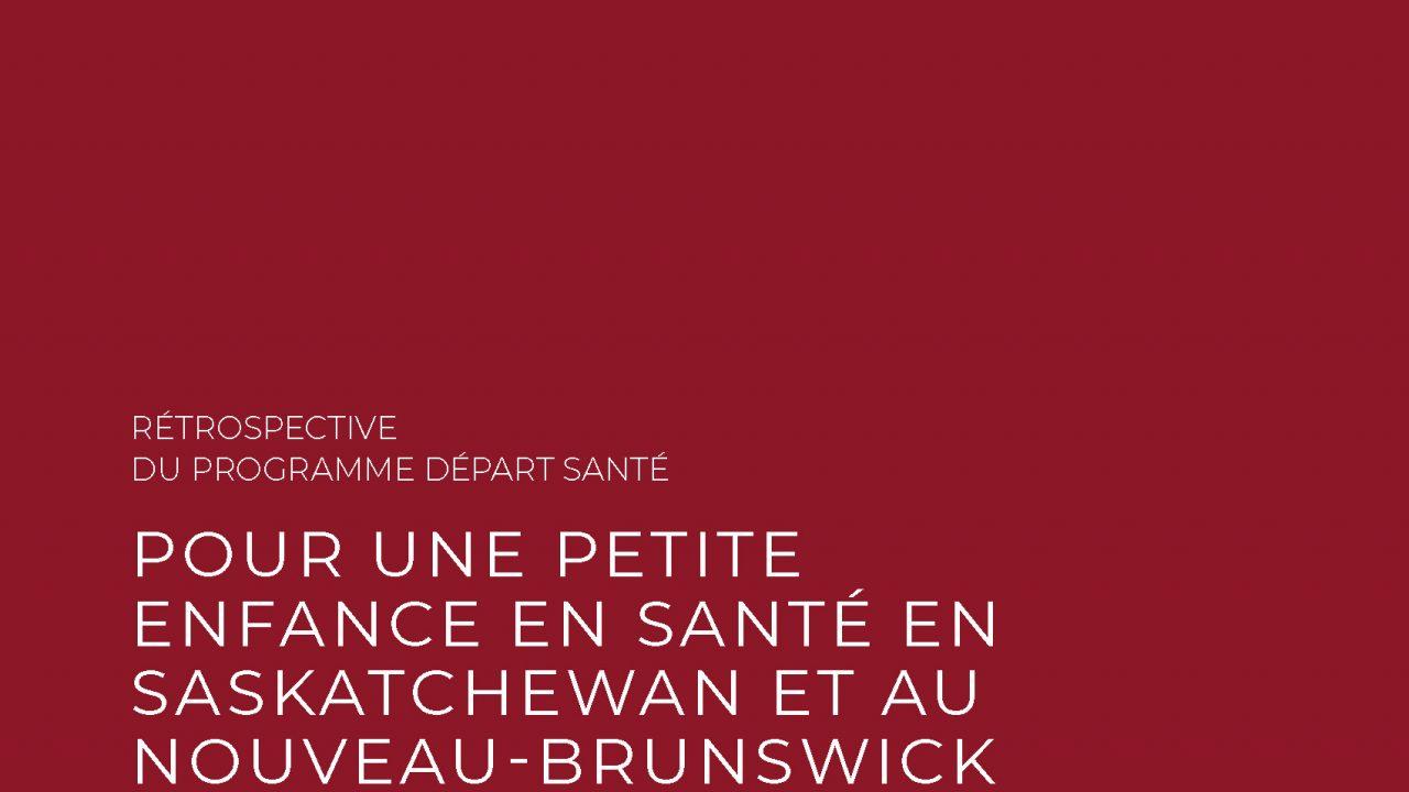 Rétrospective de Départ Santé 2006-2020