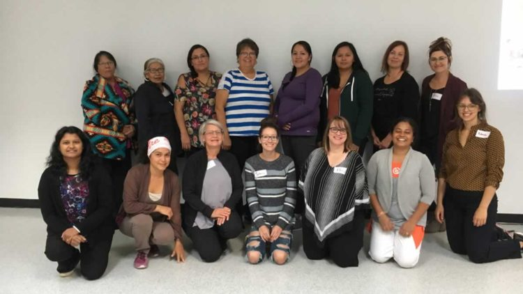 Participants in the Healthy Start for Families Facilitators workshop offered on September 21, 2019